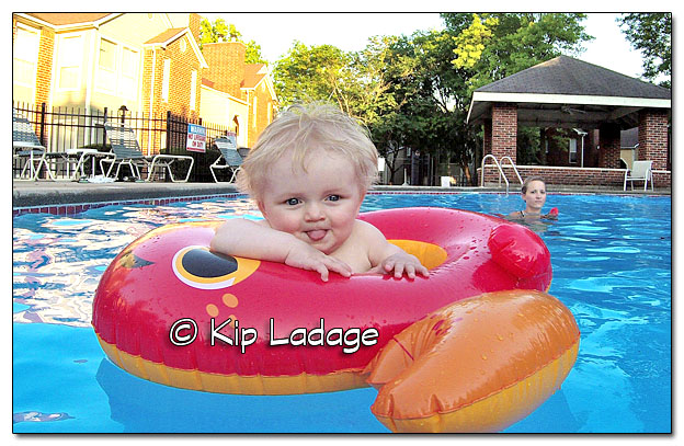 Logan in the Swimming Pool - Image 385415