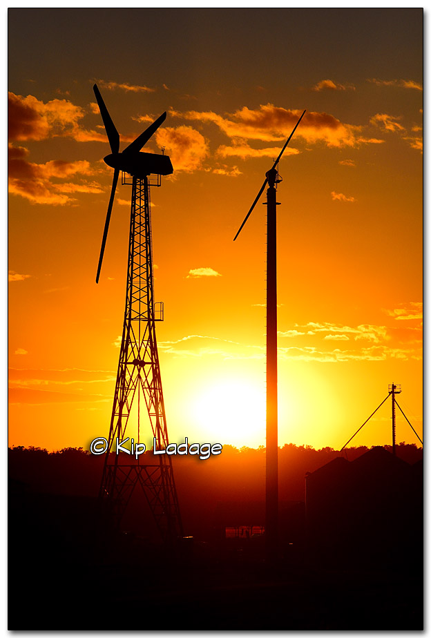 Sunset and Wind Generators - Image 285520
