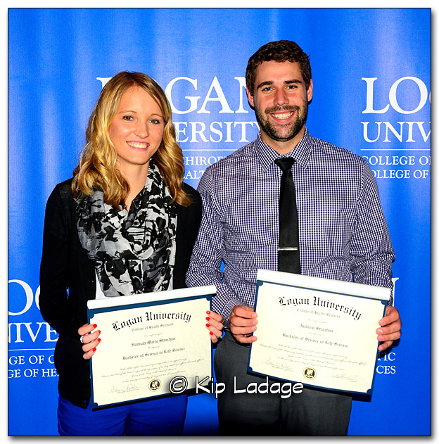 Hannah and Andy with Bachelor of Science Degrees - Image 287496