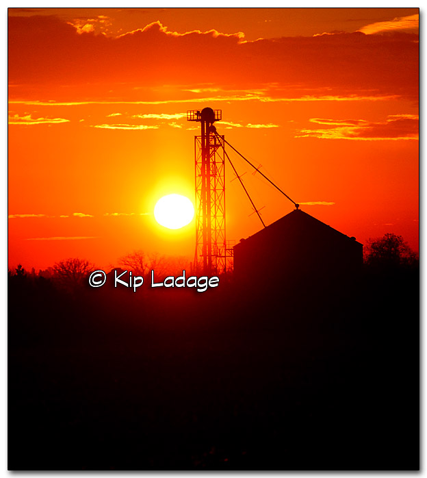 Colorful Sunrise in Farm Country - Image 289496