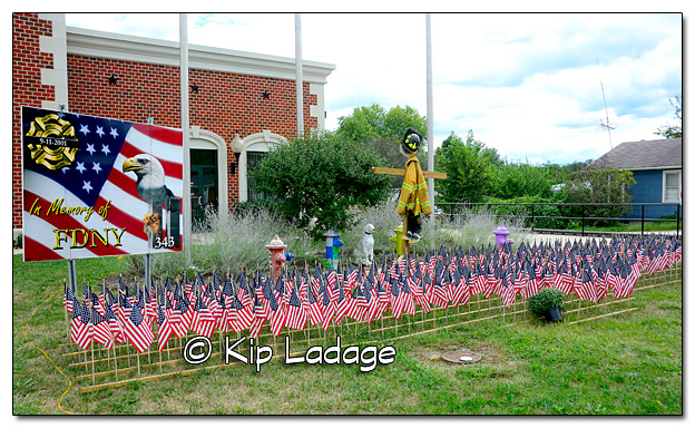 9-11 Memorial at Lincoln County Fire Station - Image 338019
