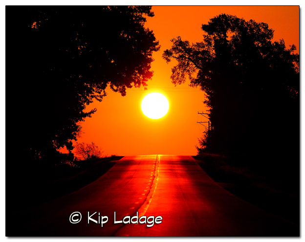 Highway Sunrise 11x14 - Image 338361