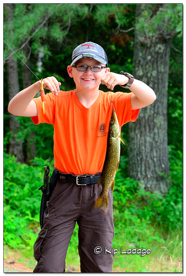 BWCA 2016 - Jordan with Northern Pike - Image 387212