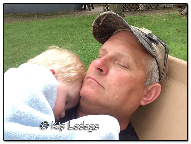 Logan Sleeping With Grandpa