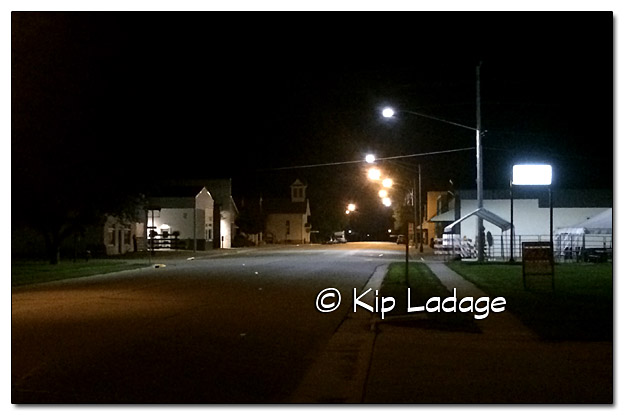 Plainfield at Night - Image 7-6-16