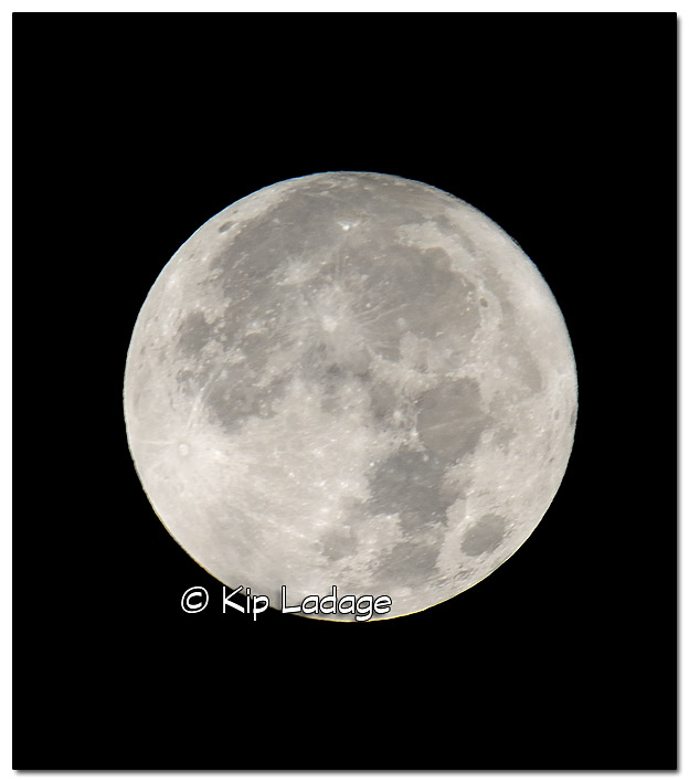 Super Moon Setting in Western Sky - Image 405542