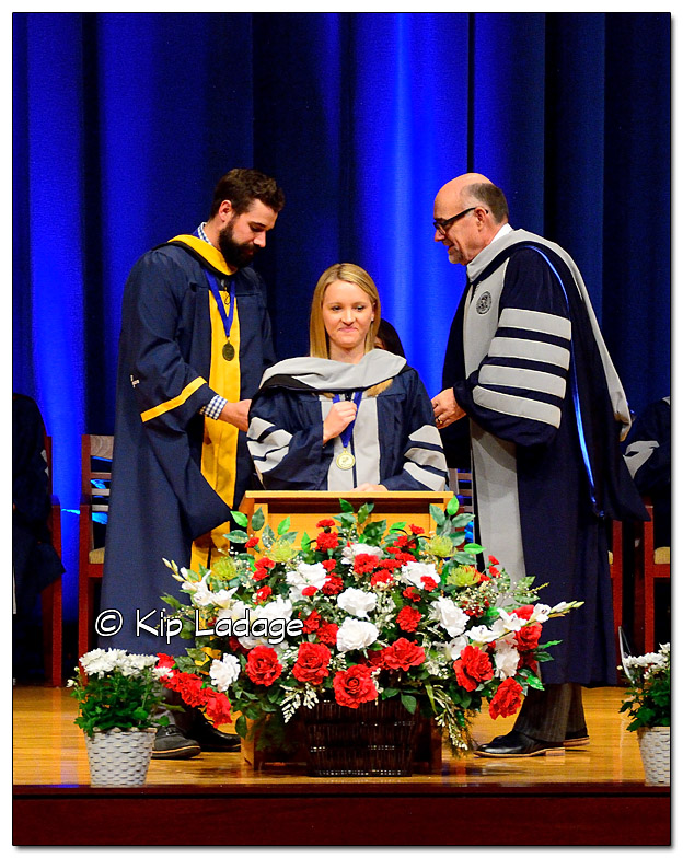 Hannah Graduating with Doctor of Chiropractic
