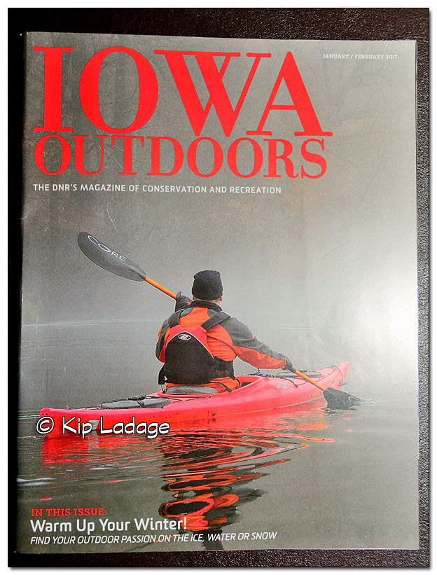 Iowa Outdoors Magazine Cover - Image 409100
