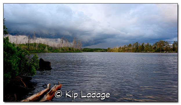 Dramatic Sky Over Lake Three in BWCA - Image 448467 (© Kip Ladage)