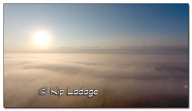 Sunrise Above the Fog - Image 457718 (© Kip Ladage)
