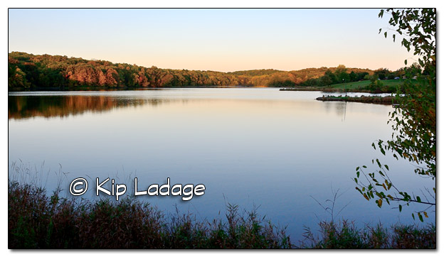 Casey Lake at Hickory Hills Park at Sunrise - Image 468672 (© Kip Ladage)
