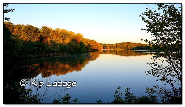 Casey Lake at Hickory Hills Park at Sunrise - Image 468675 (© Kip Ladage)