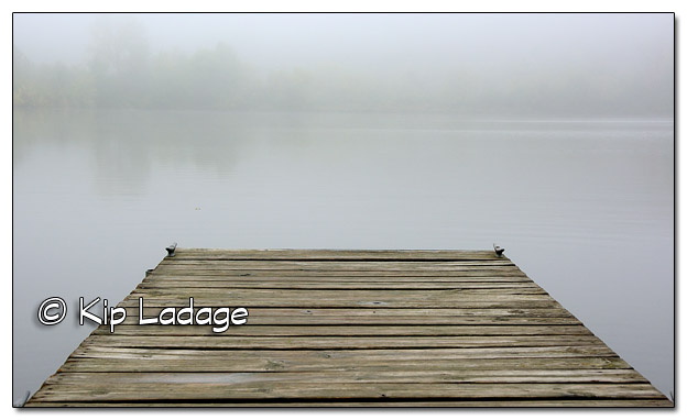 Dock at Casey Lake at Hickory Hills in Fog - Image 468039 (© Kip Ladage)