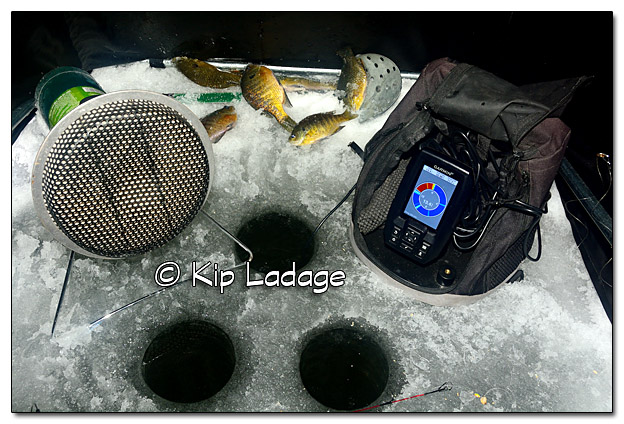 Inside Ice Fishing Hut - Image 480871 (© Kip Ladage)