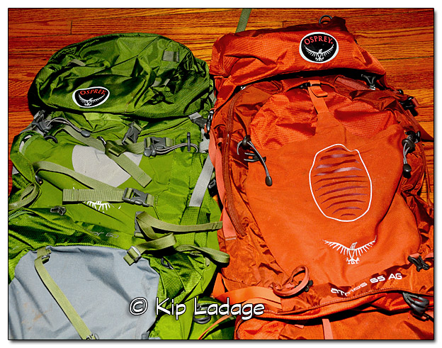 Osprey Internal Frame Backpacks From Crawdaddy Outdoors - Image 481212 (© Kip Ladage)