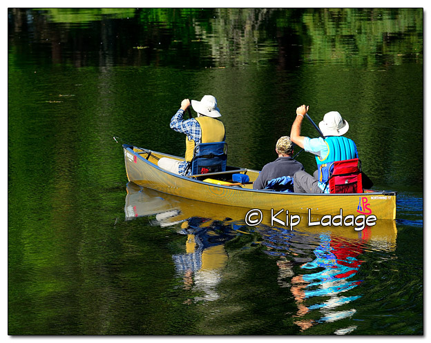 Canoeing in the Boundary Waters Canoe Wilderness Area - Image 510446 (© Kip Ladage)