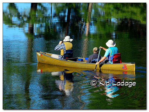 Canoeing in the Boundary Waters Canoe Wilderness Area - Image 510451 (© Kip Ladage)