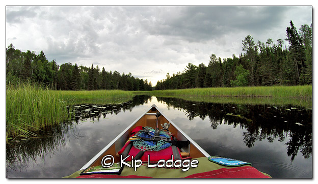 Canoeing Mudro Lake in the Boundary Waters Canoe Wilderness Area - Image 510625 (© Kip Ladage)