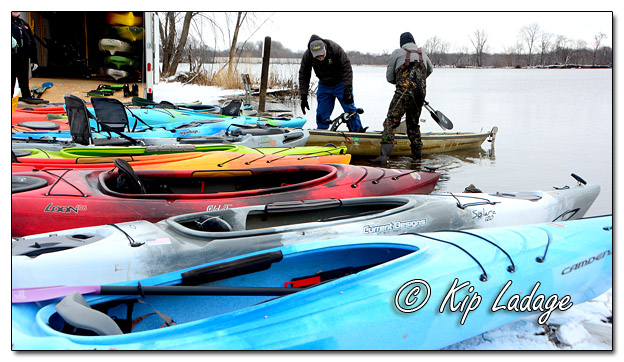 New Year's Day Paddle 2019 on Brinker Lake at George Wyth State Park - Image 540928 © Kip Ladage)