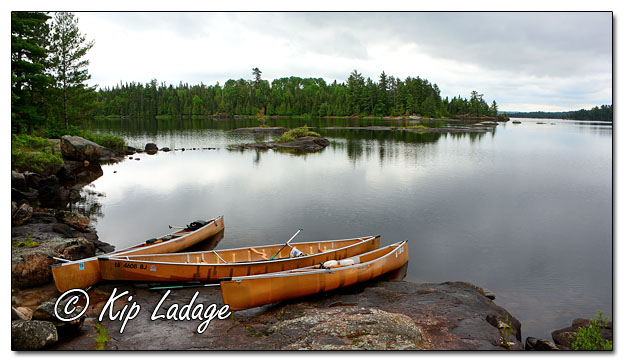Wenonah Canoes in Fourtown Lake in BWCA - Image 574049 (© Kip Ladage)