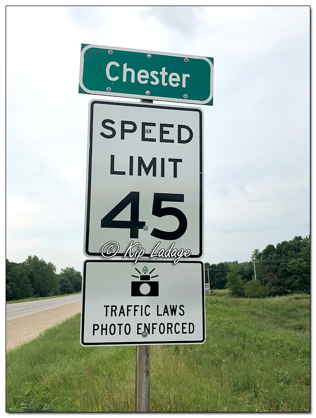 Chester, Iowa Speed Camera - © Kip Ladage