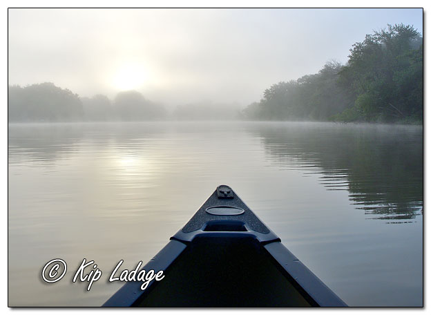 Canoeing in Early Morning Fog - Image 649821 (© Kip Ladage)