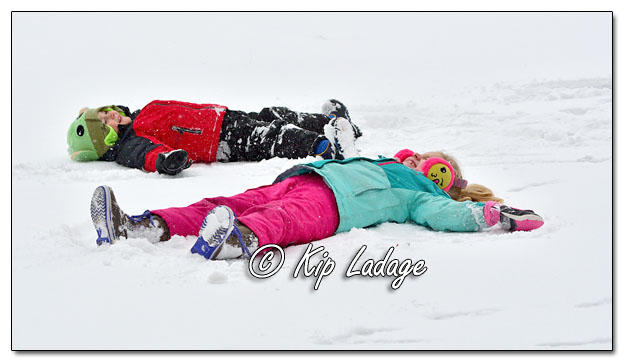 Making Snow Angels - Image 665056 (© Kip Ladage)